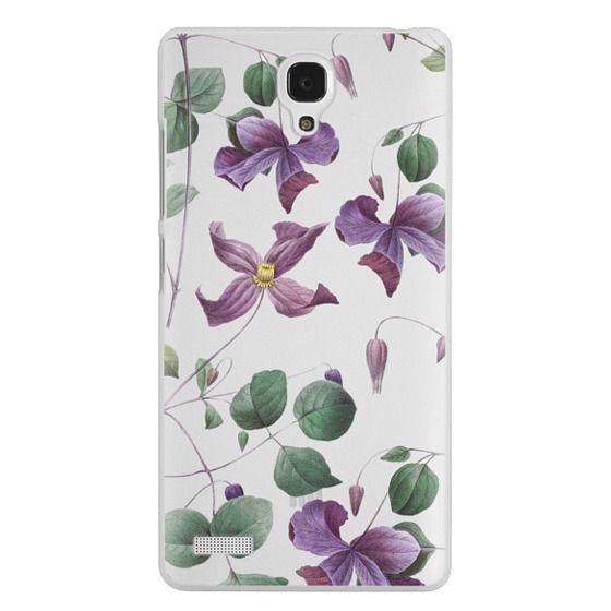 Redmi Note Cases - Vintage Botanical - Wild Flowers