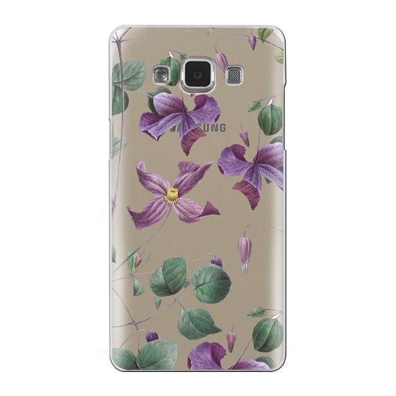 Samsung Galaxy A5 Cases - Vintage Botanical - Wild Flowers