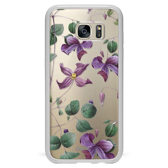 Samsung Galaxy S7 Edge Cases - Vintage Botanical - Wild Flowers