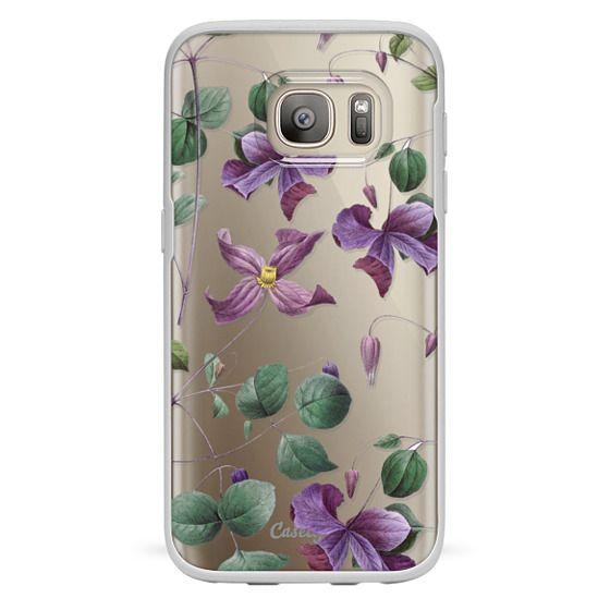 Samsung Galaxy S7 Cases - Vintage Botanical - Wild Flowers