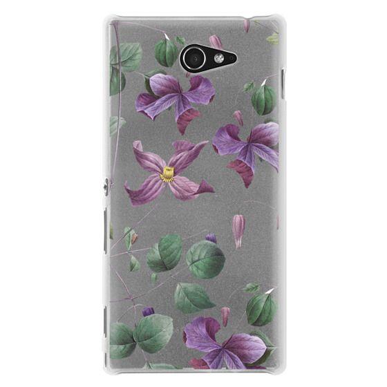 Sony M2 Cases - Vintage Botanical - Wild Flowers