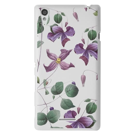 Sony T3 Cases - Vintage Botanical - Wild Flowers