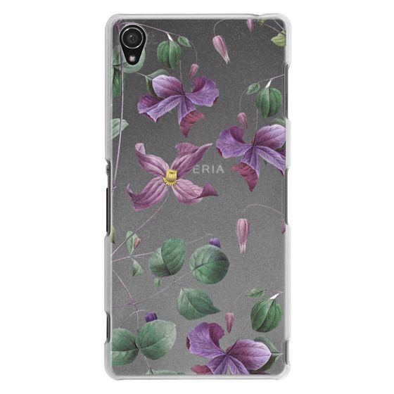 Sony Z3 Cases - Vintage Botanical - Wild Flowers