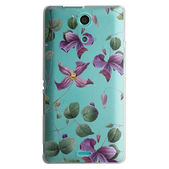 Sony Zr Cases - Vintage Botanical - Wild Flowers