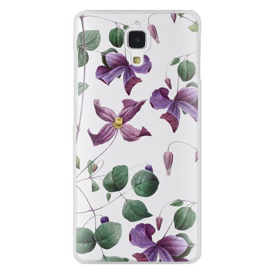Xiaomi 4 Cases - Vintage Botanical - Wild Flowers