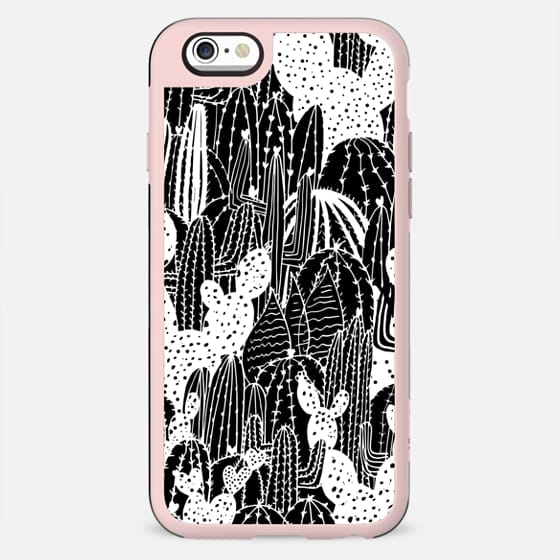 The Happy Cactus Illustration Pattern - New Standard Case