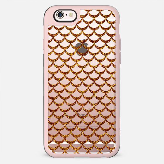 Gold glitter fish - New Standard Case