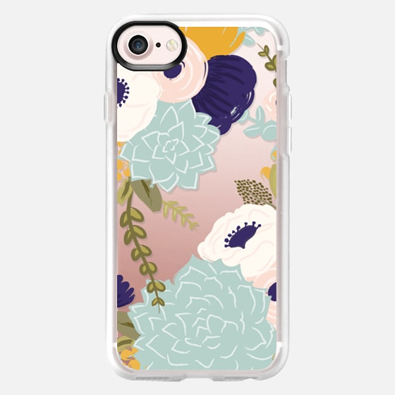 Secret Garden Florals and Succulents - Classic Grip Case