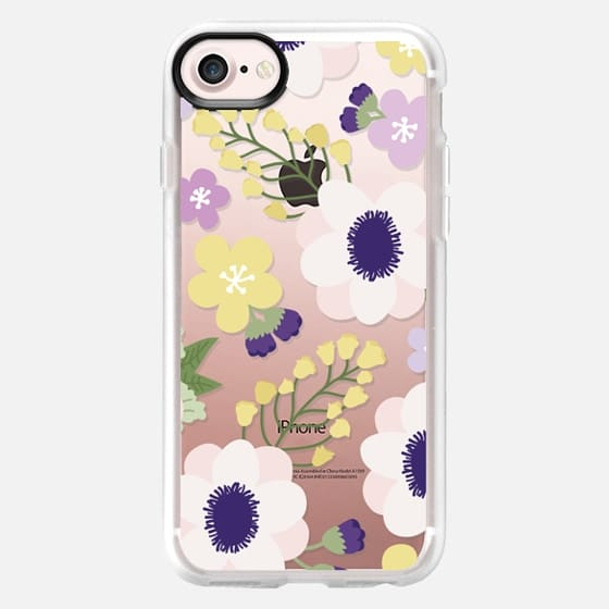 Anemone Flowers - Snap Case