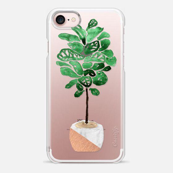 watercolor fiddle leaf fig tree snap case - Fiddle Leaf Fig Tree