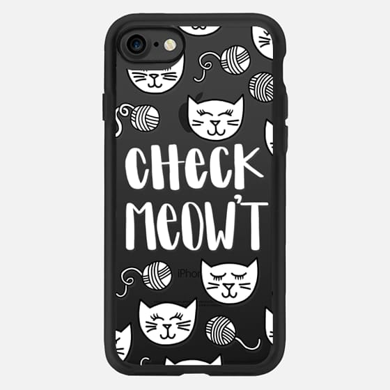Check Meowt Kitty Cat for Black iPhone -