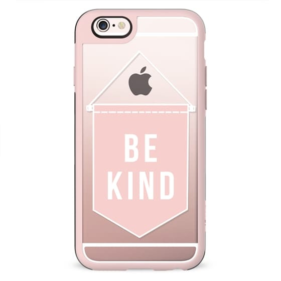 Be Kind Banner in Blush Pink