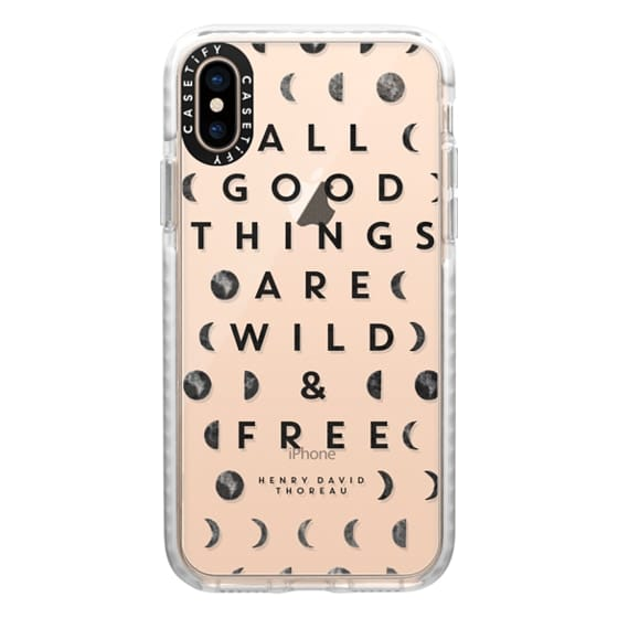 iPhone XS Cases - Wild & Free // Moon Phases