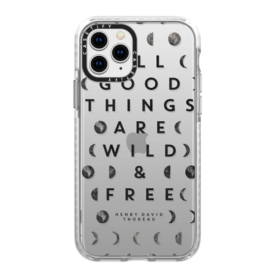 iPhone 11 Pro Cases - Wild & Free // Moon Phases