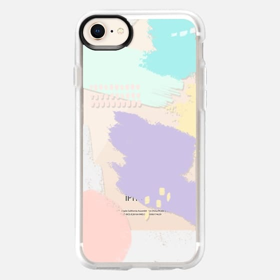 Abstract Pastels - Snap Case