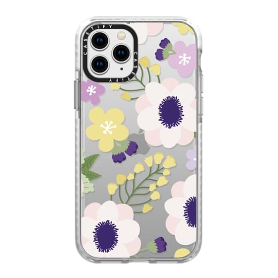 iPhone 11 Pro Cases - Anemone Flowers