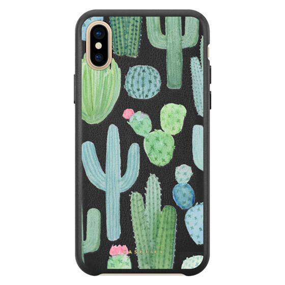Desert Cactus Garden // Watercolor Cacti