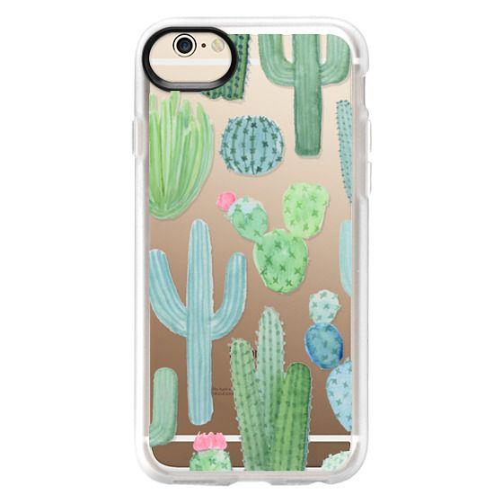 iPhone 6 Cases - Desert Cactus Garden // Watercolor Cacti