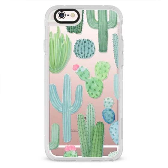 reputable site 61fee cdc17 Impact iPhone XS Case - Desert Cactus Garden // Watercolor Cacti