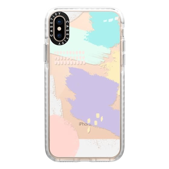 iPhone XS Cases - Abstract Pastels