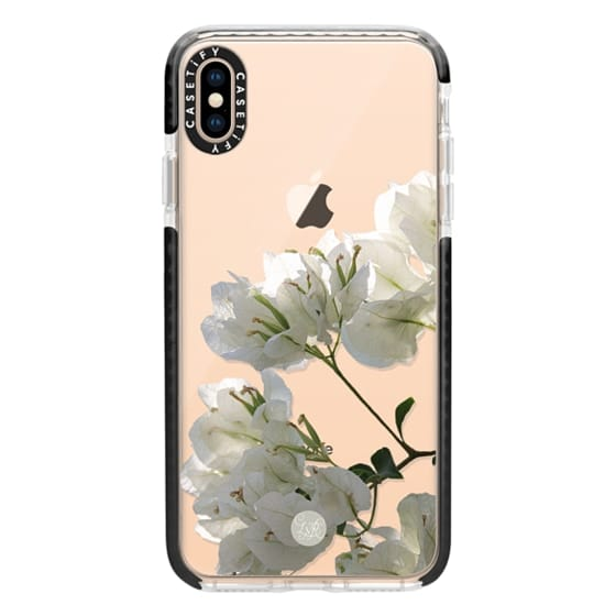 iPhone XS Max Cases - White Climbing Flowers