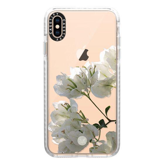 White Climbing Flowers