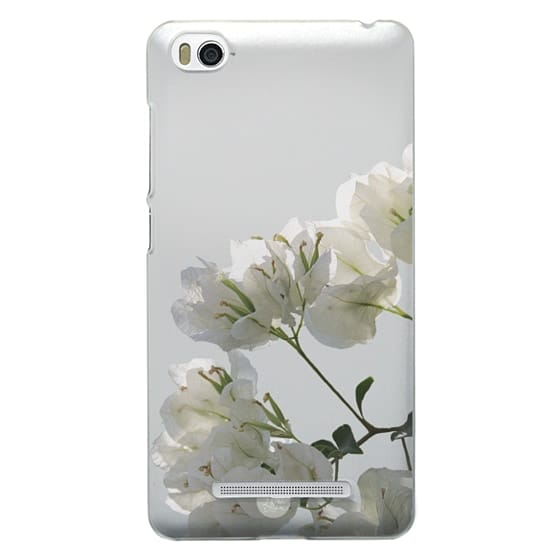 Xiaomi 4i Cases - White Climbing Flowers