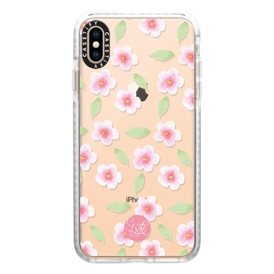 Cherry Blossom Pattern Clear