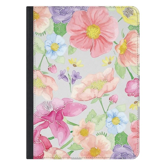 12.9-inch iPad Pro Covers - Pastel Floral Bouquet V2