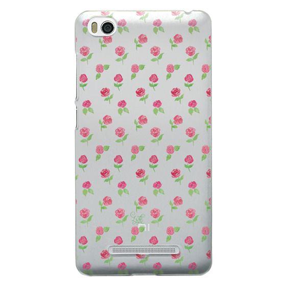 Xiaomi 4i Cases - Rosie Posie Clear