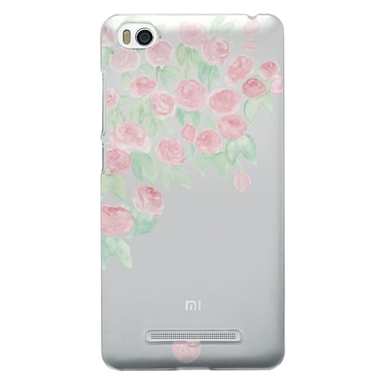 Xiaomi 4i Cases - Hanging Roses Clear
