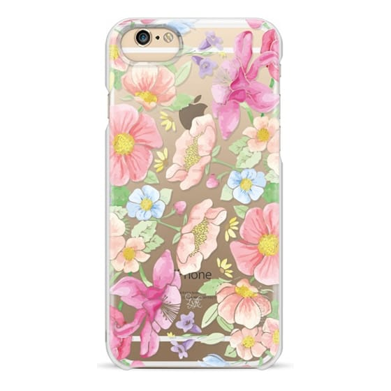 iPhone 6 Cases - Pastel Floral Bouquet V3