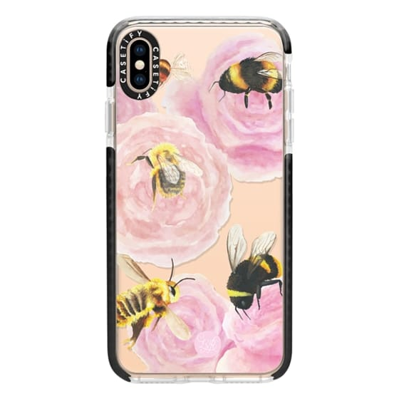 iPhone XS Max Cases - Busy Bees