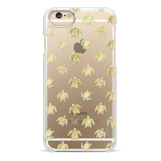 iPhone 6 Cases - Swimming Turtles