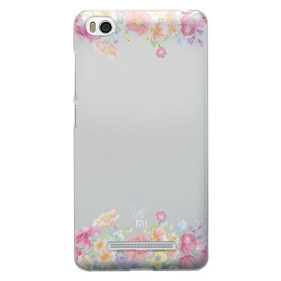 Xiaomi 4i Cases - Pastel Floral Bouquet V1