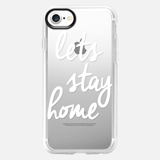 Lets Stay Home - Wallet Case