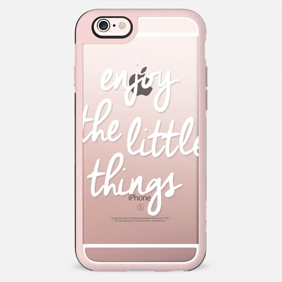 Enjoy The Little Things - New Standard Case