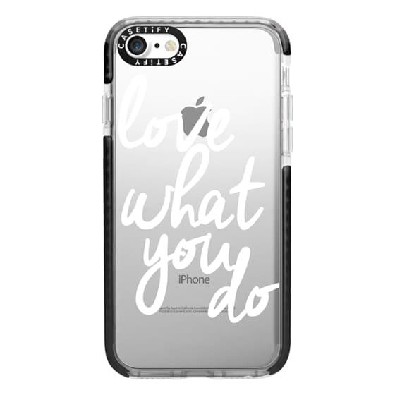 iPhone 7 Cases - Love What You Do
