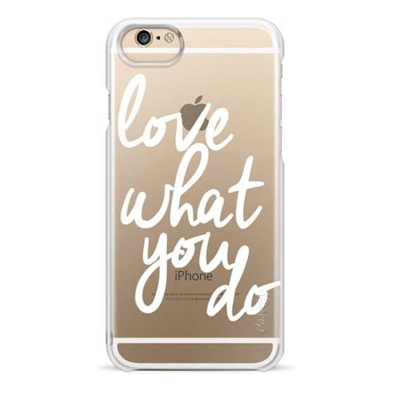 iPhone 4 Cases - Love What You Do