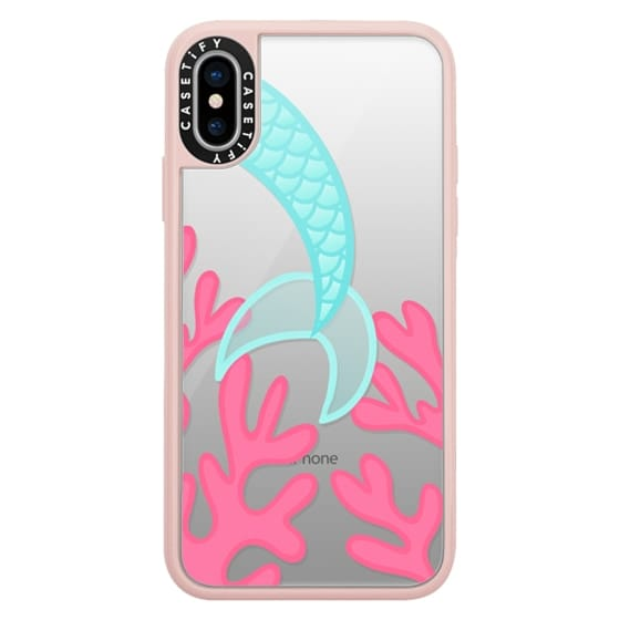 iPhone X Cases - Mermaid Tail
