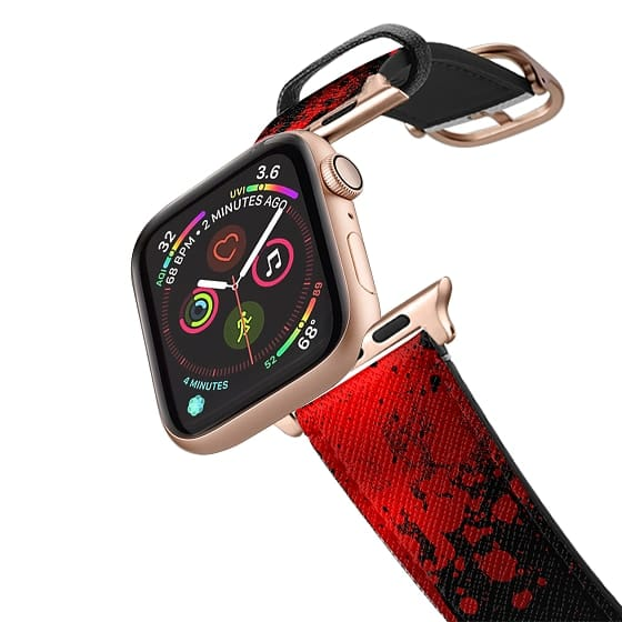 Apple Watch 38mm Bands - Bloody Red Band