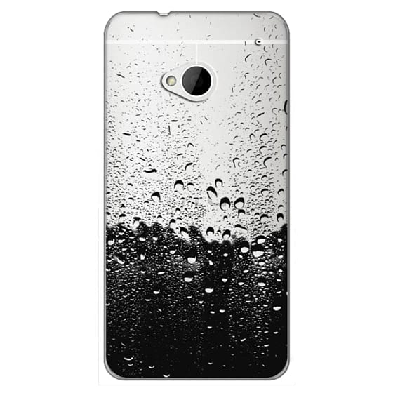Htc One Cases - Wet Transparent