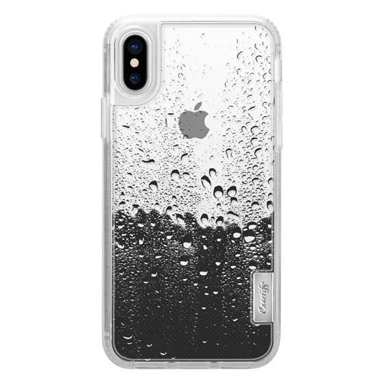 iPhone X Cases - Wet Transparent