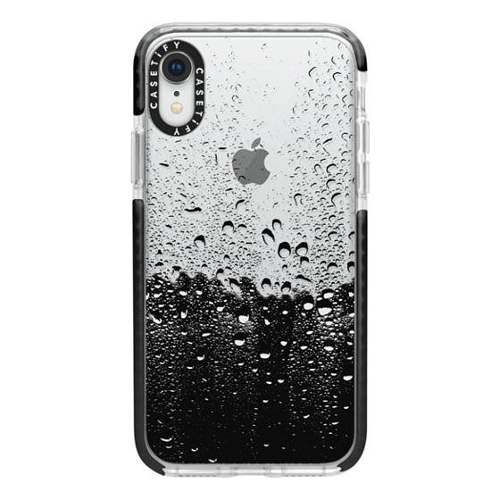 iPhone XR Cases - Wet Transparent