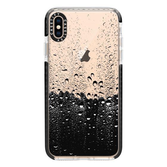 iPhone XS Max Cases - Wet Transparent