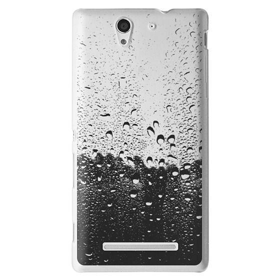 Sony C3 Cases - Wet Transparent