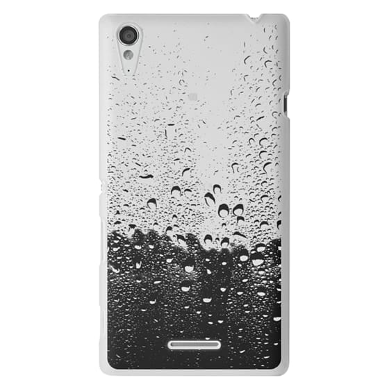 Sony T3 Cases - Wet Transparent