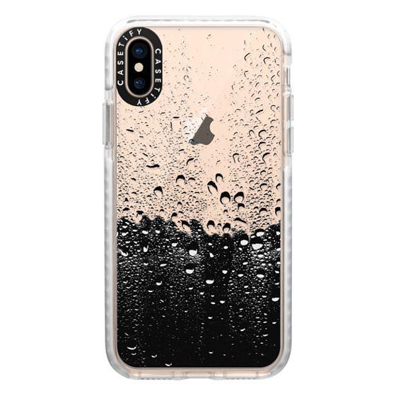 iPhone XS Cases - Wet Transparent