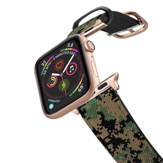 Apple Watch 38mm Bands - DIGITAL WOODLAND CAMO