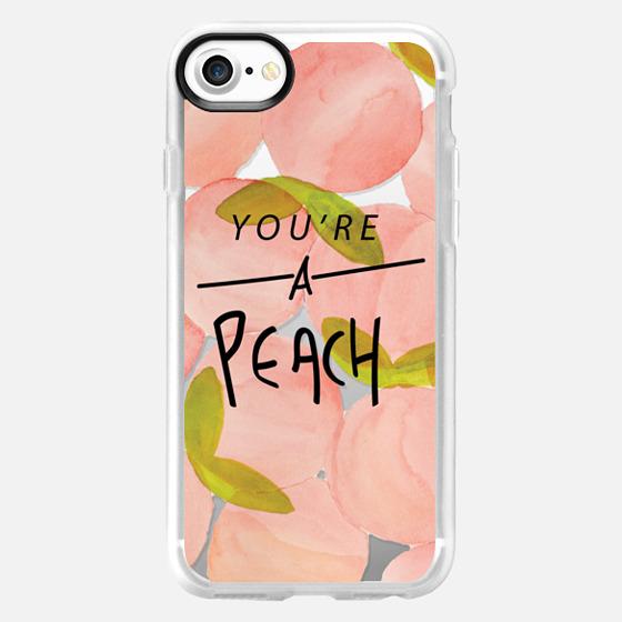 You're A Peach - Wallet Case